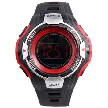 时光一百多功能户外运动电子表学生手表W40092M