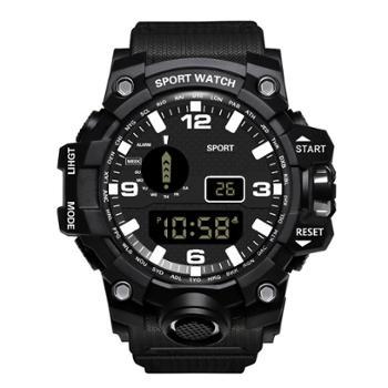 时光一百/TIME100时尚流行多功能学生表潮酷圆形运动手表W40032M