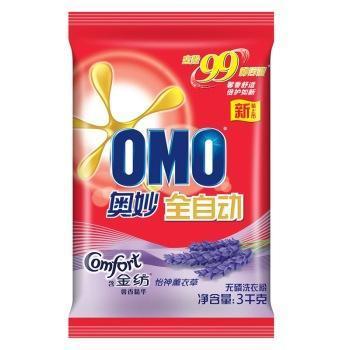 奥妙洗衣粉全自动含金纺馨香精华无磷3KG