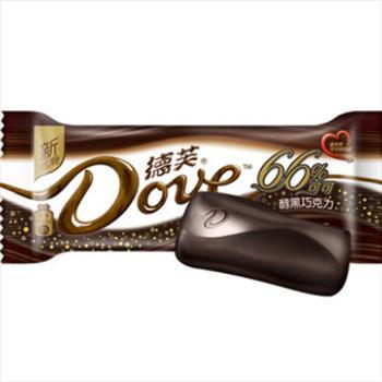 Dove/德芙奶黑巧克力43g/条排块糖果休闲零食