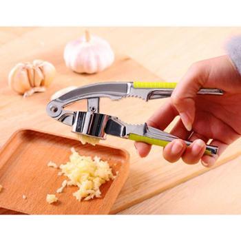 jimei 压蒜器 捣蒜器 蒜泥器 剥蒜器 蒜蓉器搅蒜器厨房用品榨蒜器