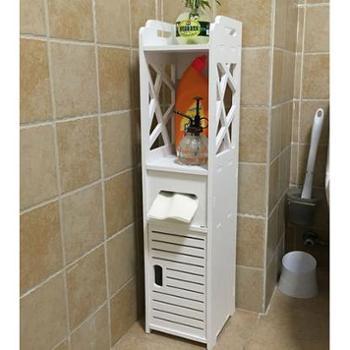 天堂牧歌马桶边柜侧柜置物架卫生间落地储物柜厕所收纳柜窄柜防水