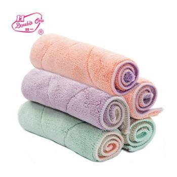洗碗布吸水不掉毛加厚抹布厨房清洁布不沾油洗碗巾擦地桌布 5条装