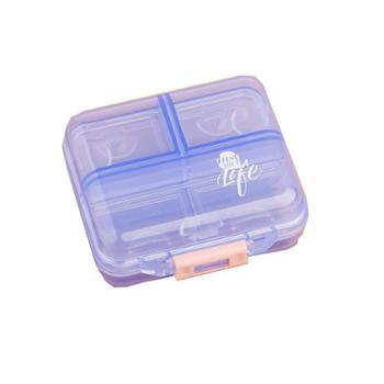 迷你小药盒随身分药盒便携式药盒药品收纳盒子一周分装药丸盒