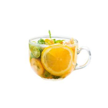 玻璃杯子家用大容量早餐杯透明牛奶杯麦片杯带把水杯泡花茶燕麦杯