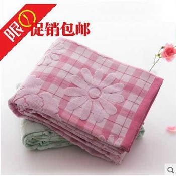 金号纯棉双人毛巾被一条夏凉被柔软透气亲肤单人空调被盖毯