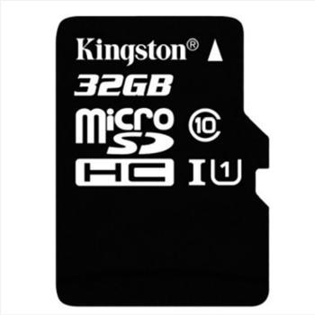 金士顿(Kingston)读速80MB/s32GBUHS-IClass10TF(MicroSD)高速存储卡