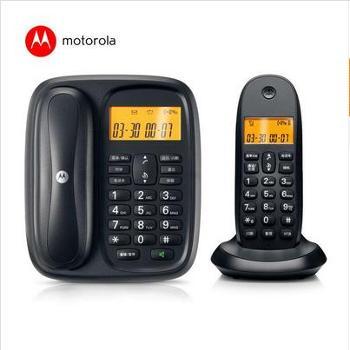 摩托罗拉(Motorola)CL101C 数字无绳电话机中文显示通话静音家用电话子母机