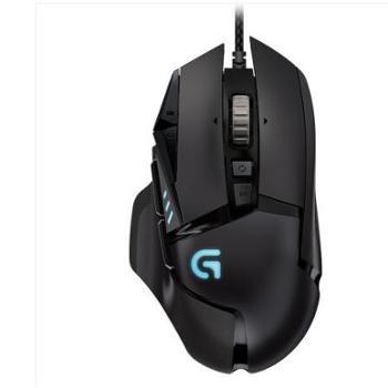 罗技 主宰者有线鼠标 游戏鼠标 HERO引擎 G502 HERO