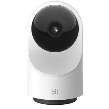 小蚁(YI)1080P智能摄像机3代云台版 无线WiFi高清家用摄像头 红外夜视升级版 双向通话 360度全景监控