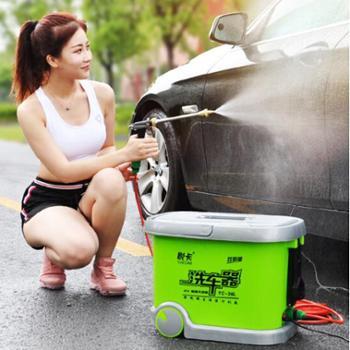 悦卡 电动高压洗车机洗车器洗车水枪 36L双泵 12V车载拉杆滚轮款 汽车用品