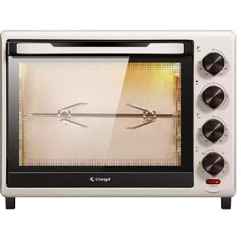 长帝(changdi)32升新款家用多功能电烤箱低温发酵上下管独立调温旋转烤叉家庭用烤箱TRTF32AL