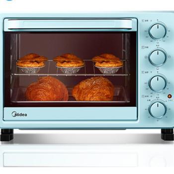 美的(Midea)PT2531 家用多功能电烤箱 25升