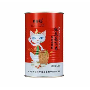 素食猫红豆薏仁米复合谷物代餐粉600g