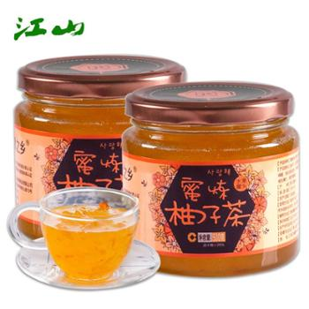 江山 蜂蜜柚子茶 500gx2瓶