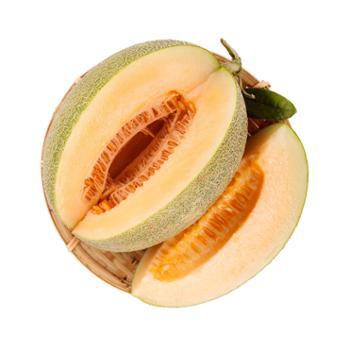 江山 海南晓蜜 甜瓜 哈密瓜 2个 单果2-2.5斤