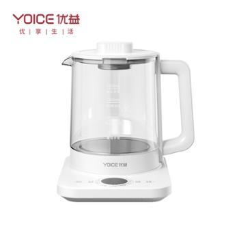 优益 全自动养生壶 家用多功能玻璃烧水壶 Y-YSH30