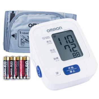 欧姆龙/OMRONHEM-7121上臂式电子血压计智能加压14次记忆值