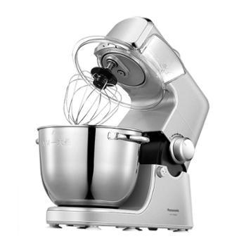 松下/Panasonic新品家用多功能厨师机MK-HKM200小型和面机12档无极调速