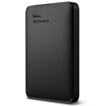 西部数据(WD)4TBUSB3.0移动硬盘Elements新元素系列2.5英寸