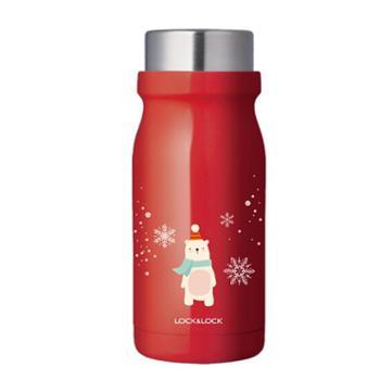 乐扣乐扣牛奶保温杯圣诞款情侣保温杯300MLLHC4195
