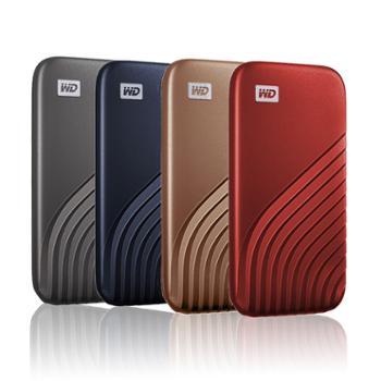 西部数据/WDMyPassport随行SSD版500GBType-C固态移动硬盘(PSSD)
