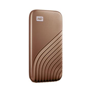西部数据/WDMyPassport随行SSD版1TBType-C固态移动硬盘