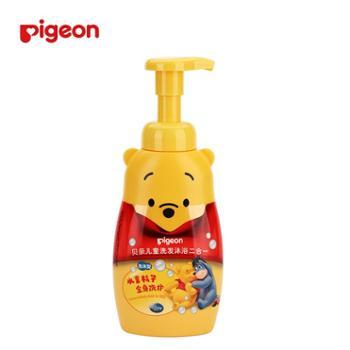贝亲IA82儿童洗发沐浴二合一350ml*1瓶