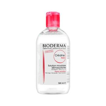 贝德玛法国Bioderma卸妆水粉水500ml深层清洁温和卸妆液