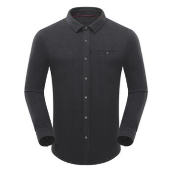 布来亚克BLACKYAK男士秋冬衬衫商务休闲柔软保暖长袖衬衣FZM355