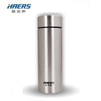 哈尔斯 保温杯荣耀商务真空 带滤网茶杯304不锈钢350ML水杯HW-350-45 350ML