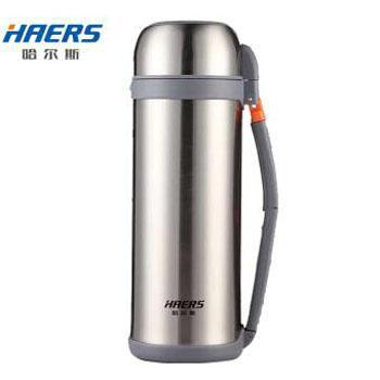 哈尔斯保 温壶户外旅行壶 2L大容量304不锈钢真空旅行车载广口暖热开水壶热水瓶壶 HG-2000-14