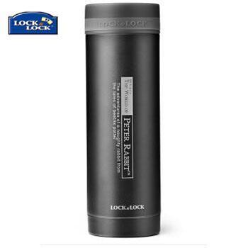 乐扣乐扣/lock&lock 不锈钢纤巧便携保温杯茶水杯车载商务杯子LHC561(300ml)