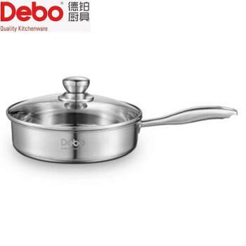 德铂亚斯不锈钢煎锅24cm DEP-608