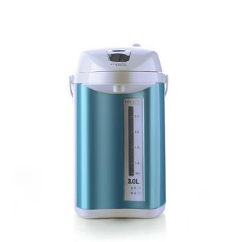 乐扣乐扣 304不锈钢内胆电热开水瓶 EJK567BLU 3.0L/750W