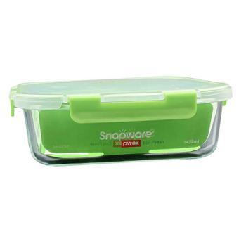 康宁 玻璃分隔保鲜盒长方形1450ML SN-EF1450RC/CN