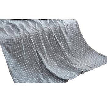 恒源祥/HYX灰格毛巾被150*200cm100%棉TSB2030