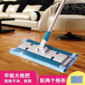 动动手拖把免手洗平板拖把家用自挤式旋转木地板瓷砖懒人擦地拖布