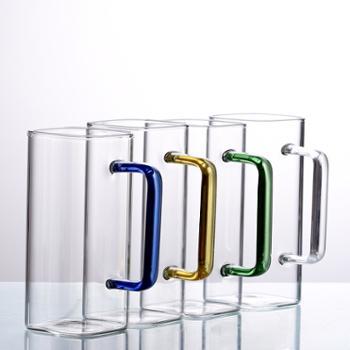 臻琦高硼硅方口玻璃杯