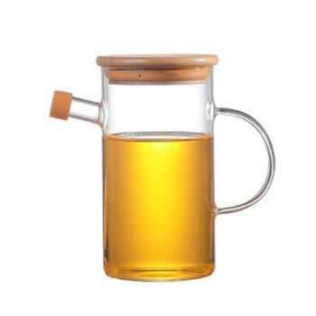 臻琦玻璃油壶控油玻璃壶调料壶