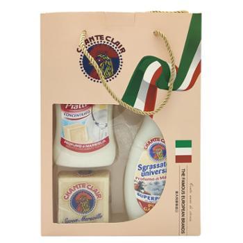 意大利大公鸡头清洁剂3件套礼盒