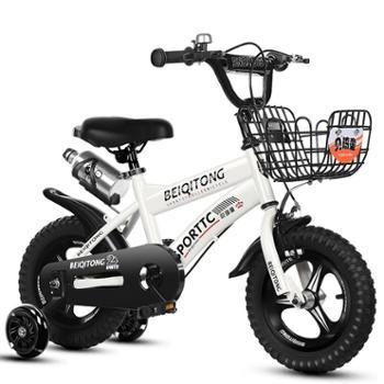 贝琦童儿童自行车男孩2-3-4-5-6-7-8岁宝宝女孩脚踏单车童车