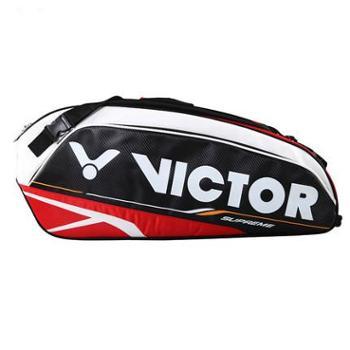 胜利VICTOR 羽毛球包 十二支装 双肩背拍包 BR-9202