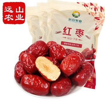 远山农业新疆阿克苏红枣500g*3袋