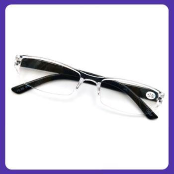 超轻老花镜老人时尚舒适老花眼镜男女