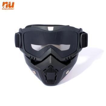 NU摩托车风镜越野头盔防风沙哈雷护目镜滑雪镜