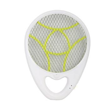 超人(SID)灭蚊拍 SI303 手持式灭蚊拍充电式电蚊拍带照明(白+绿)