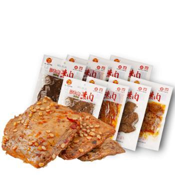 羊角豆干手撕素肉麻辣五香素牛肉208g*2