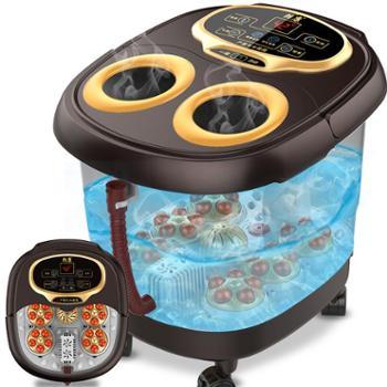 朗康6转盘熏蒸版电动按摩足浴器LK-8906