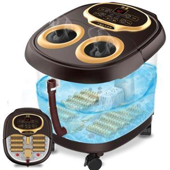 朗康12滚轮按摩足浴盆熏蒸版LK-8905足浴器